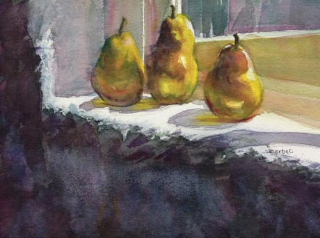 Pears in the Window - Image © Susan Bartel. All Rights Reserved.